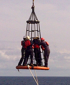 Staff Working Offshore